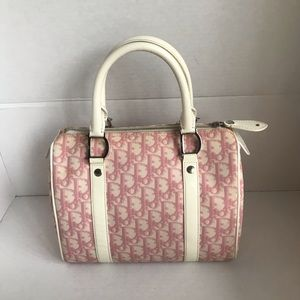 Christian Dior Mini Diorissimo Boston Bag